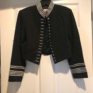 Military style blazer